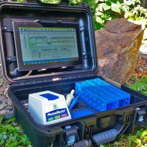 Laboratório portátil para monitorização microbiológica feita pela Wase