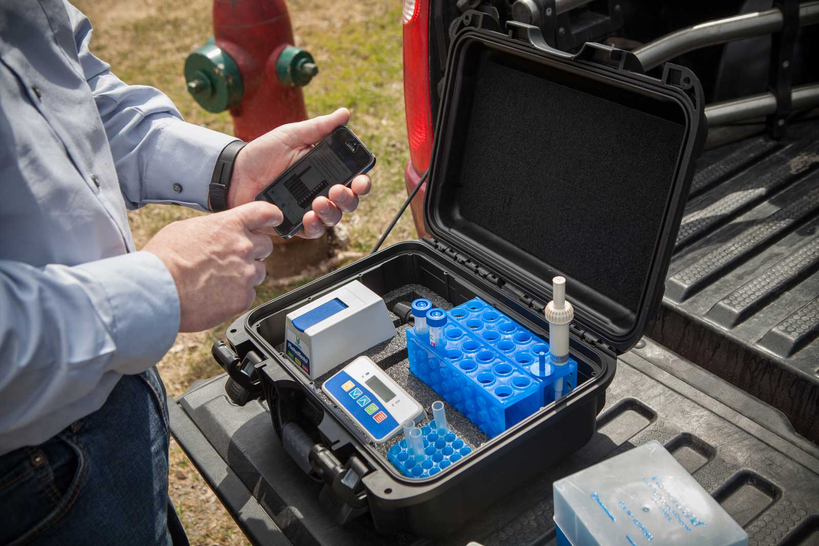 Processo de monitorização microbiológica da água