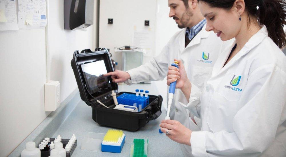 Fazemos a avaliação do risco de Legionella com as soluções tecnológicas LuminUltra